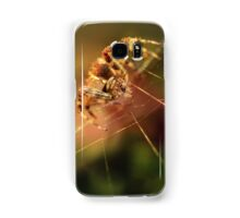 Hunter in the garden on the stem Samsung Galaxy Case/Skin