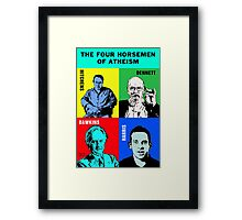 The Four Horsemen of Atheism Framed Print