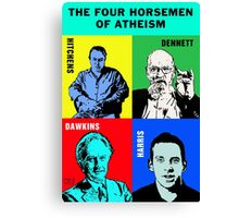 The Four Horsemen of Atheism Canvas Print