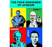 The Four Horsemen of Atheism Photographic Print