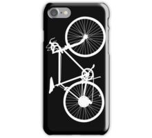 bicycle  white iPhone Case/Skin