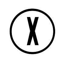 X-Files Logo Photographic Print