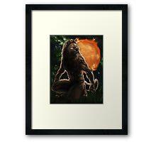 Werewolf Zodiac - Leo Framed Print