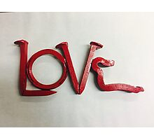 Love In Red Photographic Print