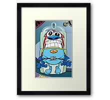 Stimpy's launch Ren and Stimpy Show Framed Print