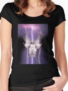 skull 2 Women's Fitted Scoop T-Shirt