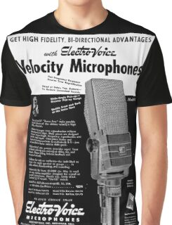 microphone Graphic T-Shirt