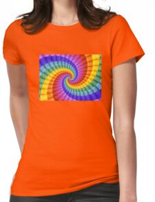Rainbow Dreamin' Womens Fitted T-Shirt