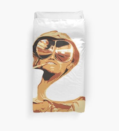Fear and Loathing in las Vegas Duvet Cover