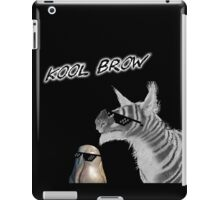 Kool Brow- Egg 2 iPad Case/Skin
