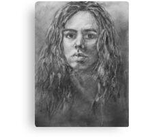 Self Portrait Graphite Canvas Print