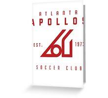 Apollos Soccer Greeting Card