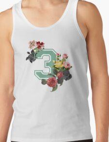 Vintage Floral Varsity #3 T-Shirt