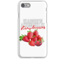 Be like Barry iPhone Case/Skin