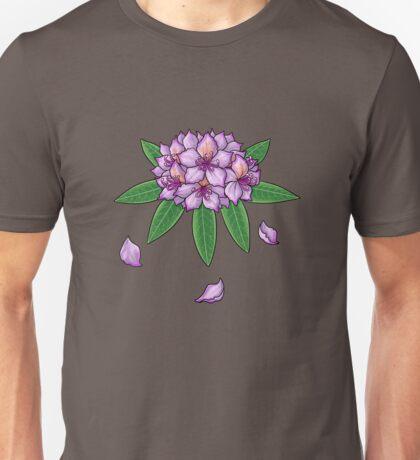 Rhododendron ponticum (No Text) Unisex T-Shirt