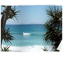 Surfers Paradise Framed Poster