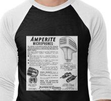 Amperite Microphones vintage ad Men's Baseball ¾ T-Shirt