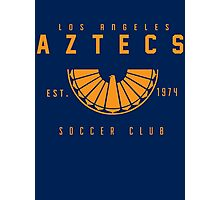 Aztecs Soccer Photographic Print