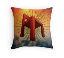 Big Red Chair Throw Pillow