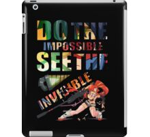 Do The Impossible, See The Invisible - Yoko iPad Case/Skin