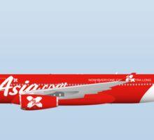 Wings In Uniform - A330 - Air Asia Sticker