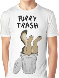 Furry Trash - German Shepherd Graphic T-Shirt
