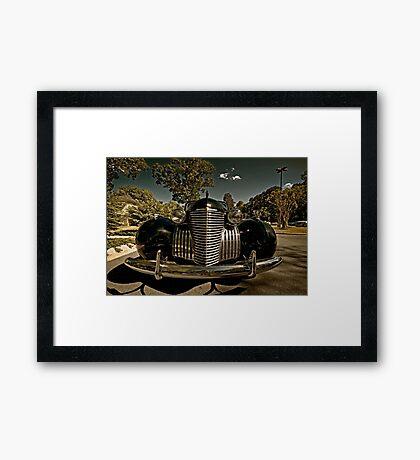 1940 Cadillac Limo Framed Print