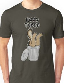Furry Trash - German Shepherd Unisex T-Shirt