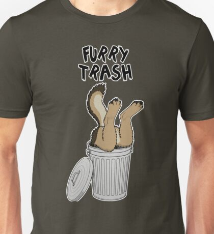 Furry Trash - German Shepherd Unisex T-Shirt