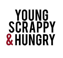 Young Scrappy & Hungry  Photographic Print
