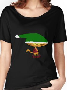 Cat Ready For Winter Women's Relaxed Fit T-Shirt