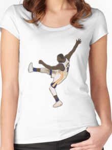 Draymond Green Kick Women's Fitted Scoop T-Shirt