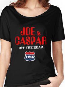 JOE & CASPER HIT THE ROAD 2016 Women's Relaxed Fit T-Shirt