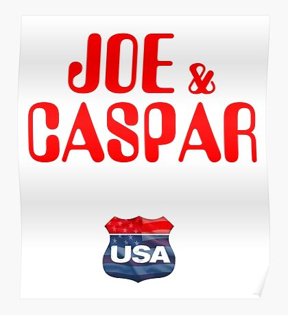 JOE & CASPER HIT THE ROAD 2016 Poster
