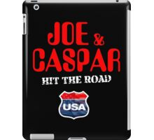 JOE & CASPER HIT THE ROAD 2016 iPad Case/Skin