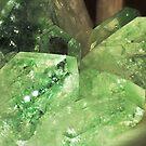 Green Glitter (Apophyllite) by Stephanie Bateman-Graham