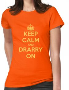 Keep Calm and Drarry On Womens Fitted T-Shirt