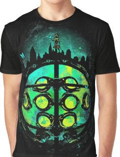 Face of Protector Graphic T-Shirt