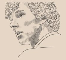 Sherlock Sketch With Transparent Background by Sekazimaru