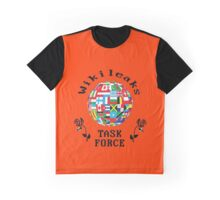 Wikileaks Task Force  Graphic T-Shirt
