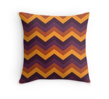 Trick or Treat! - Chevron Lines Throw Pillow