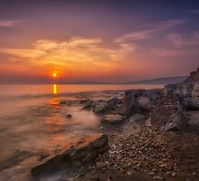 Hanover Point Sunset by manateevoyager