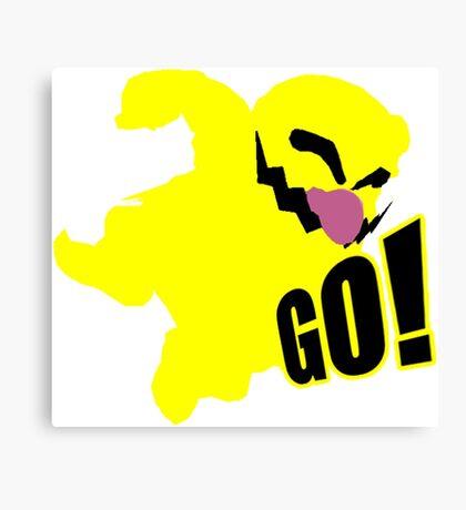 Wario GO Canvas Print