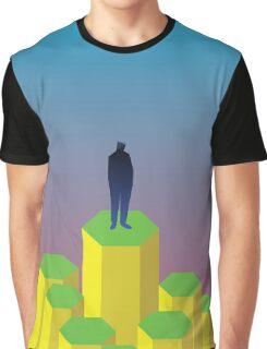 Hexagons Graphic T-Shirt