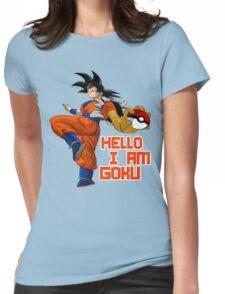 GOKU EL CAZADOR DE POKEMON Womens Fitted T-Shirt