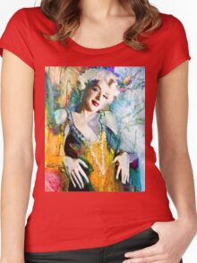 MM 126 yellow Women's Fitted Scoop T-Shirt