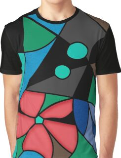 Abstract pattern Mosaic . Graphic T-Shirt