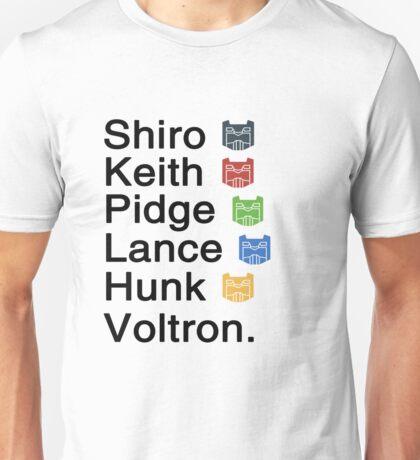 Team Voltron & Unisex T-Shirt