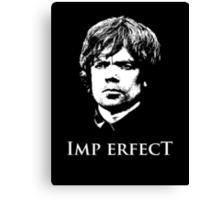 Imp Erfect Canvas Print