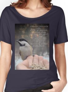 """""""Intently Observe"""" Women's Relaxed Fit T-Shirt"""